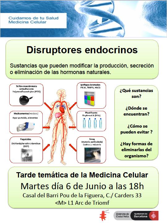 Medicina Cel·lular: Disruptors endocrins