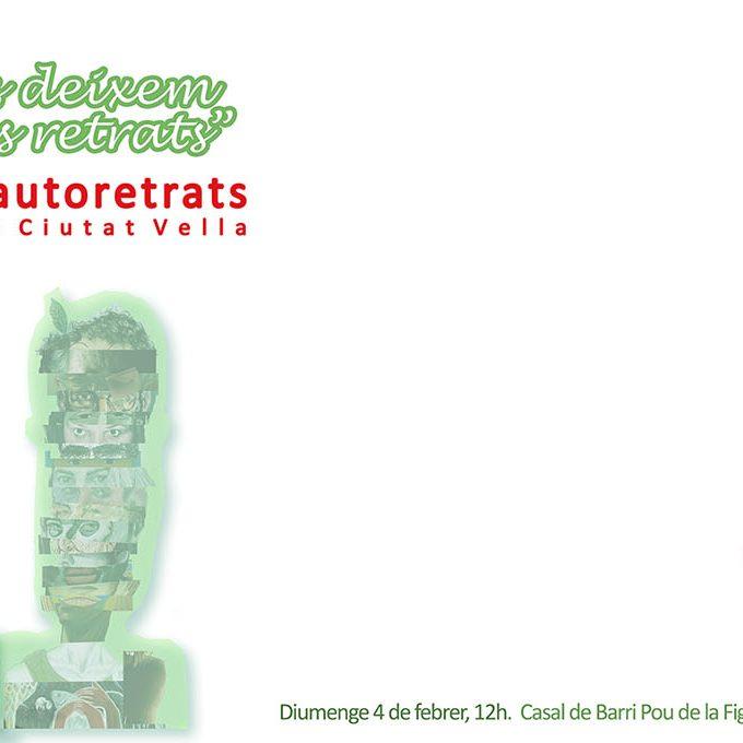 Inauguració de la Mostra d'Autoretrats d'artistes de Ciutat Vella