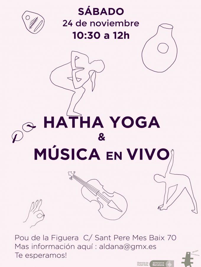 Hatha Yoga y Música en vivo
