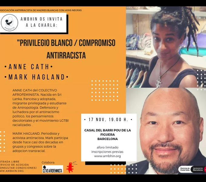 Privilegio blanco/Compromiso antirracista
