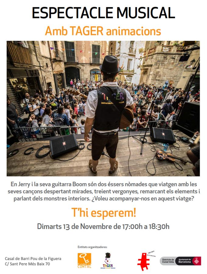 Espectacle musical amb Tager
