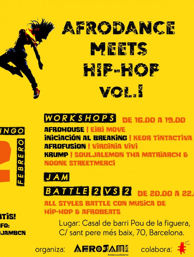 Afro meets Hip Hop. Vol. 1